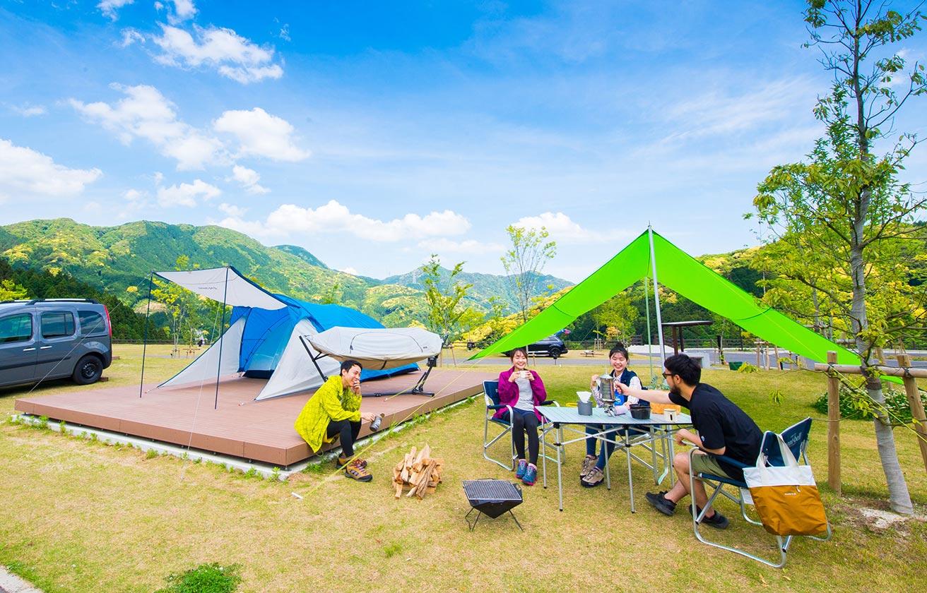 五ケ山 キャンプ モンベル ベース